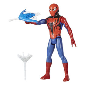 Marvel Spider-Man Titan Hero Series Blast Gear - Figurine Spider-Man de 30 cm