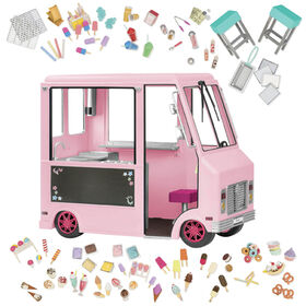 Our Generation Sweet Stop Ice Cream Truck - Pink