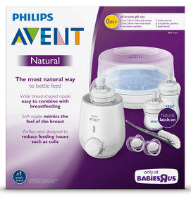 Ensemble-cadeau Natural tout inclus Philips Avent - Notre exclusivité