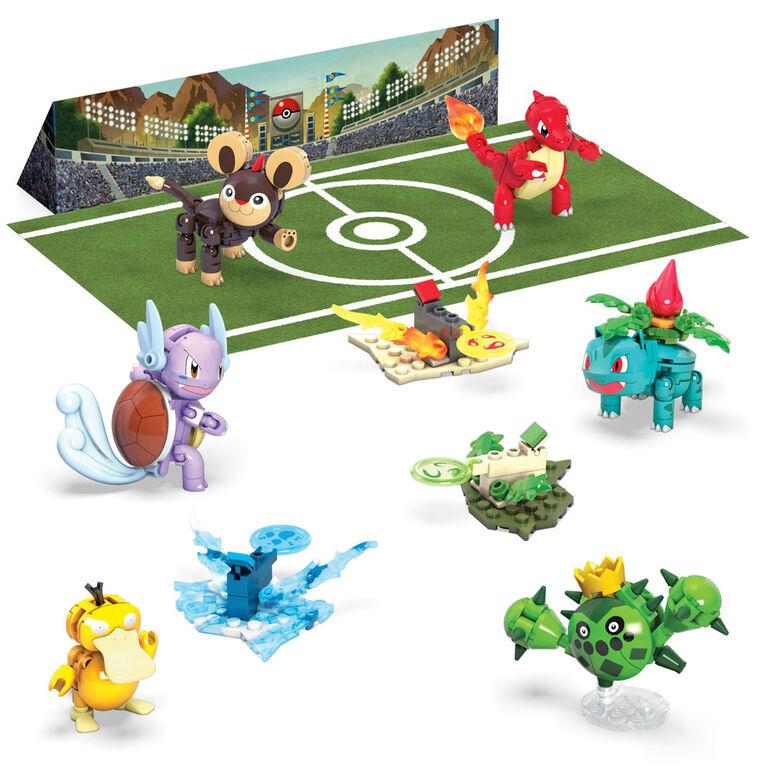 Mega Construx Pokemon Trainer Team Challenge Figure Building Set
