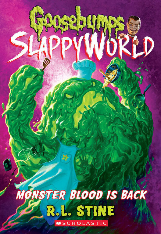 Scholastic - Goosebumps Slappyworld #13: Monster Blood is Back