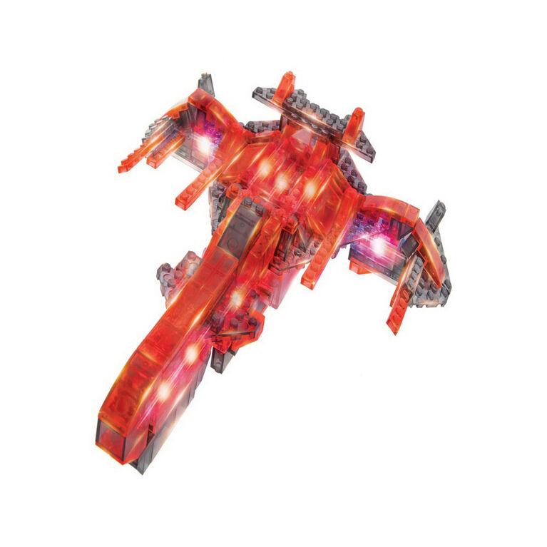 Laser Pegs Space Cruiser 12-In-1  Building Set
