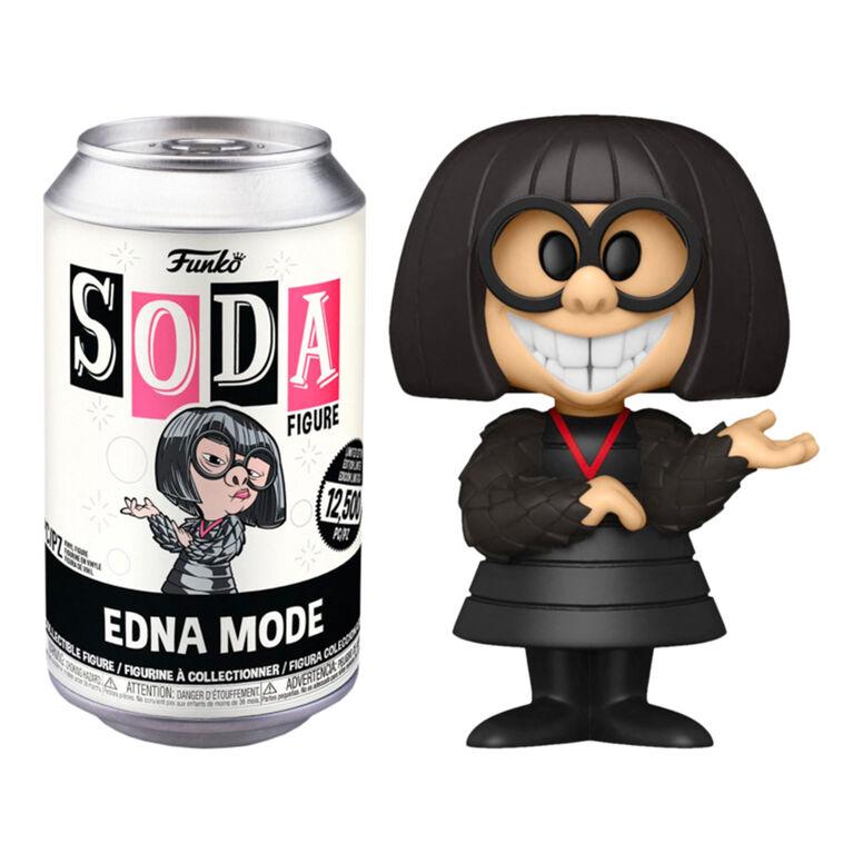 Figurine en Vinyle Edna Mode par Funko SODA! Incredibles