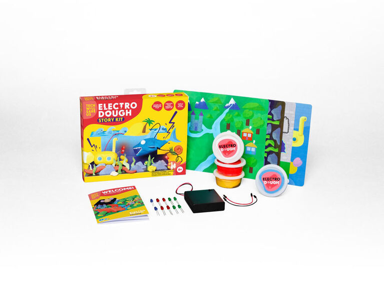 Kit d'histoire Electro Dough - Édition anglaise