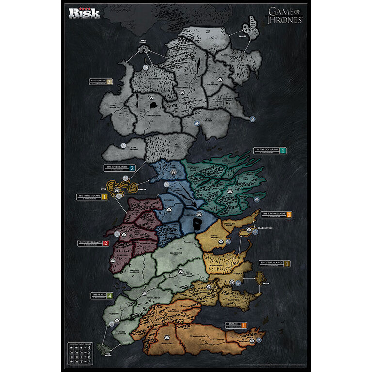 Risk: Game of Thrones - Édition anglaise