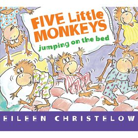 Five Little Monkeys Jumping on the Bed Board Book - English Edition