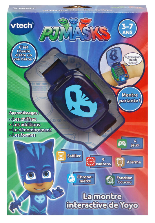PJ Masks Super Catboy Watch - French Edition