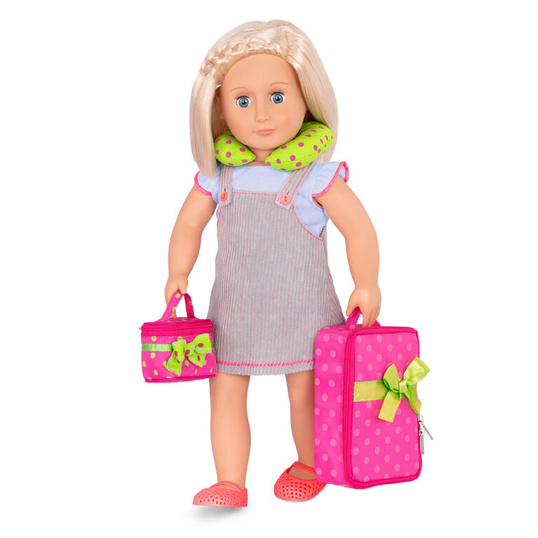 Our Generation, Luggage And Travel Playset for 18-inch Dolls