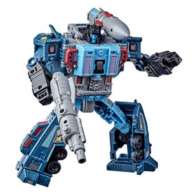 Transformers Toys Generations War for Cybertron: Earthrise Leader WFC-E23 Doubledealer Triple Changer Action Figure