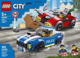 LEGO City Police La course-poursuite sur l'autoroute 60242
