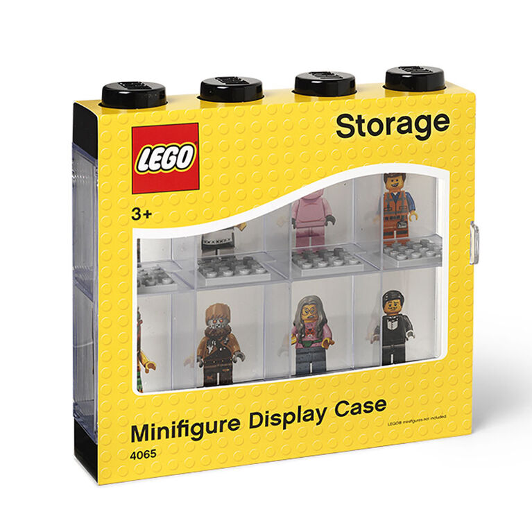 LEGO Minifigure Display 8 Black