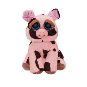 "Feisty Pets 10"" Plush - Mort the Snort Spotted Pig"