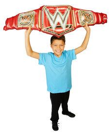 Gigantesque et luxueux titre de championnat universel WWE.