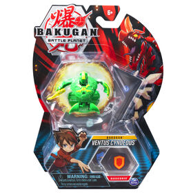 Bakugan, Ventus Cyndeous, 2-inch Tall Collectible Action Figure and Trading Card