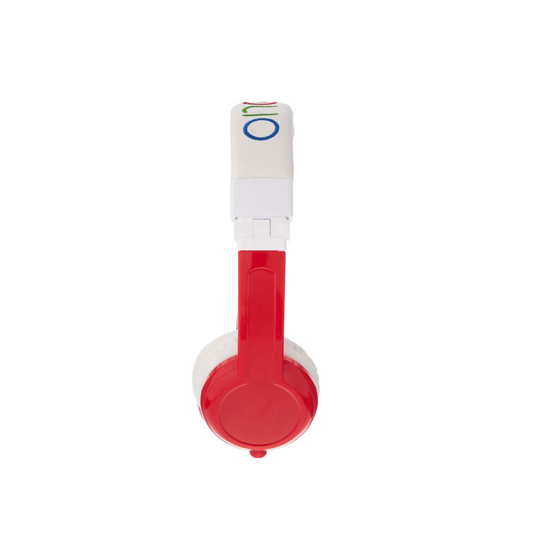 BuddyPhones Explore Fold w/ Mic, Red