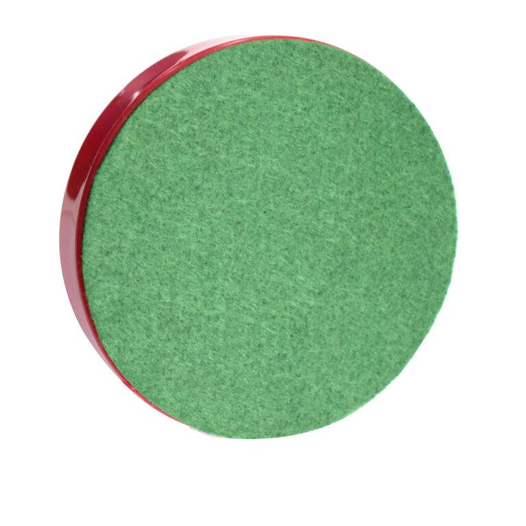Ensemble de poussoirs 9,5 cm (3,75 po) / palets 7,8 cm (2,88 po) pour hockey sur coussin d'air