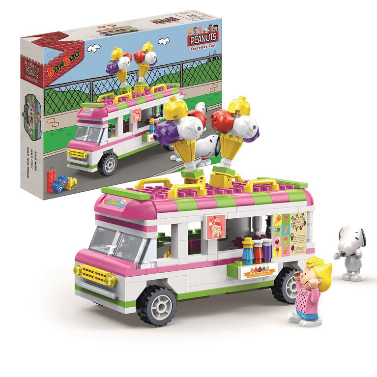 BanBao Peanuts - Ice Cream Truck