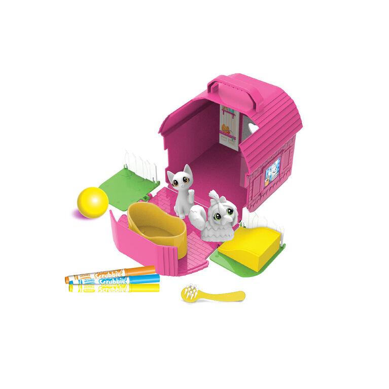 Crayola Scribble Scrubbie Pets, Backyard Play Set