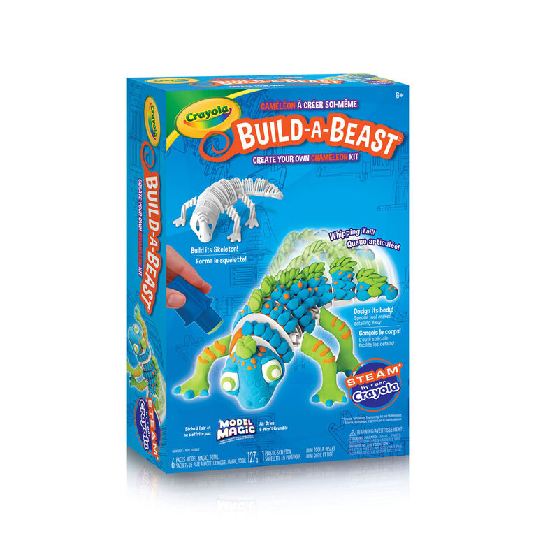 Ensemble Crayola Build-A-Beast Caméléon