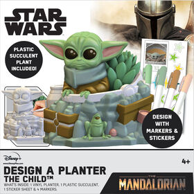 Mandalorian - Child Design A Planter