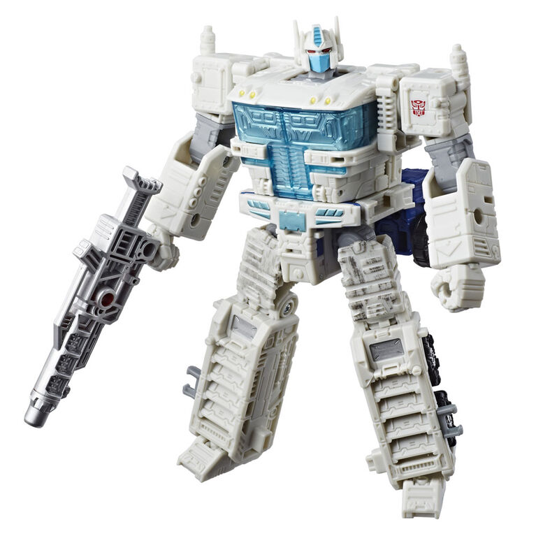 Transformers Generations War for Cybertron: Siege - Figurine Ultra Magnus de classe leader.