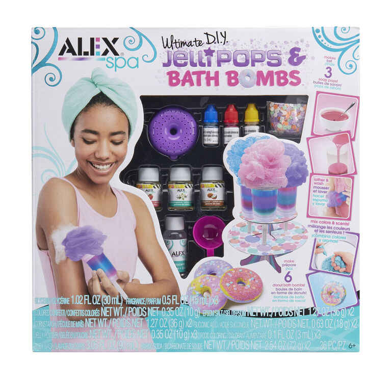 Alex Spa Ultimate DIY Jelli Pops et bombes pour le bain