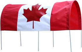 Millside Baldaquin drapeau du Canada
