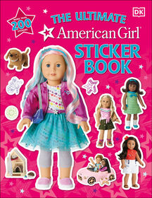 American Girl Ultimate Sticker Book - Édition anglaise