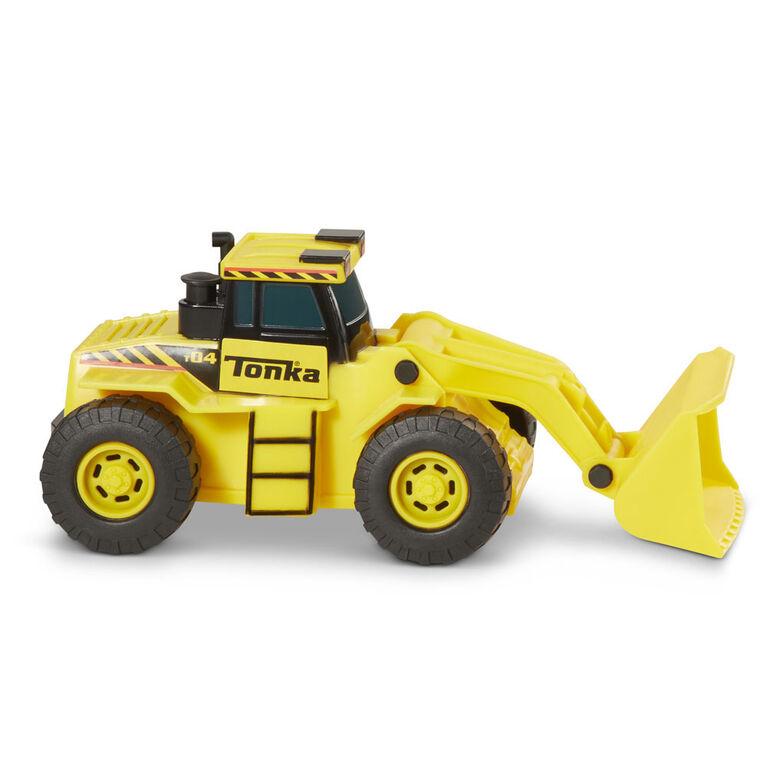 Camion à chargement frontal Mega Minis.