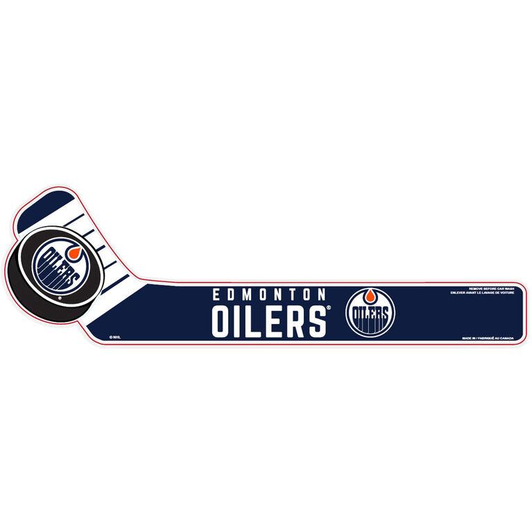 NHL WiperTag Edmonton Oilers - Édition anglaise
