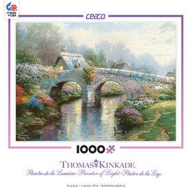 Ceaco - Thomas Kinkade 1000 Pieces Puzzle - Blossom Bridge