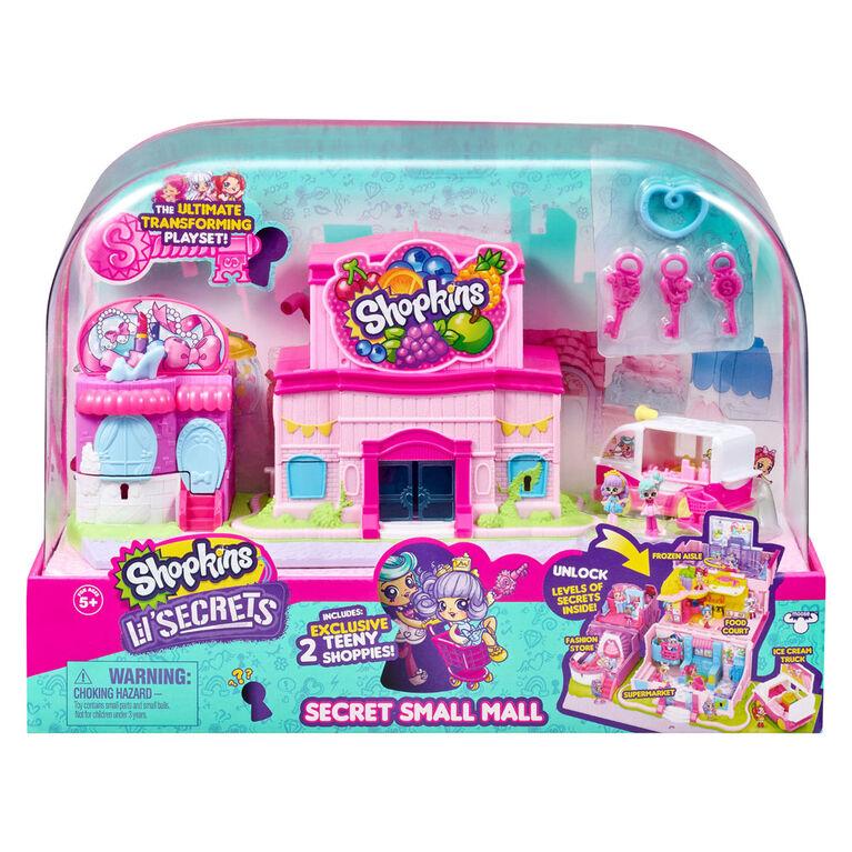 Shopkins Lil' Secrets Secret Petit Centre commercial
