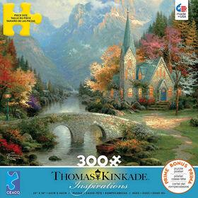 Ceaco: Thomas Kinkade - Mountain Chapel Jigsaw Puzzle (300pc)