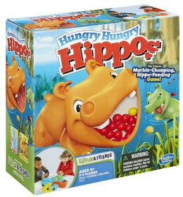 Jeu Hungry Hungry Hippos de Hasbro Gaming - les motifs peuvent varier