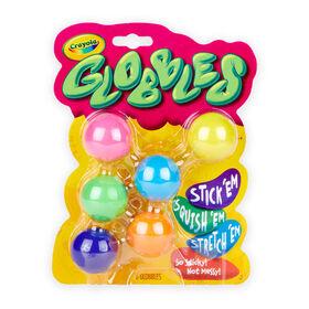6 balles Crayola Gobbles