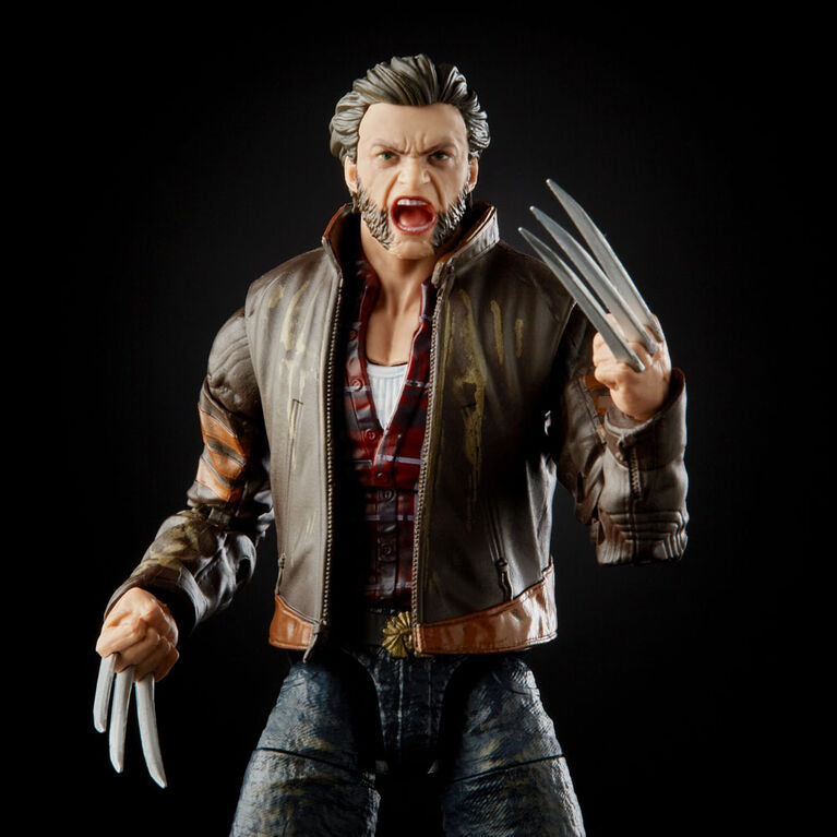 Hasbro Marvel Legends Series X-Men Wolverine 6-inch Collectible Action Figure Toy, Includes 3 Accessories