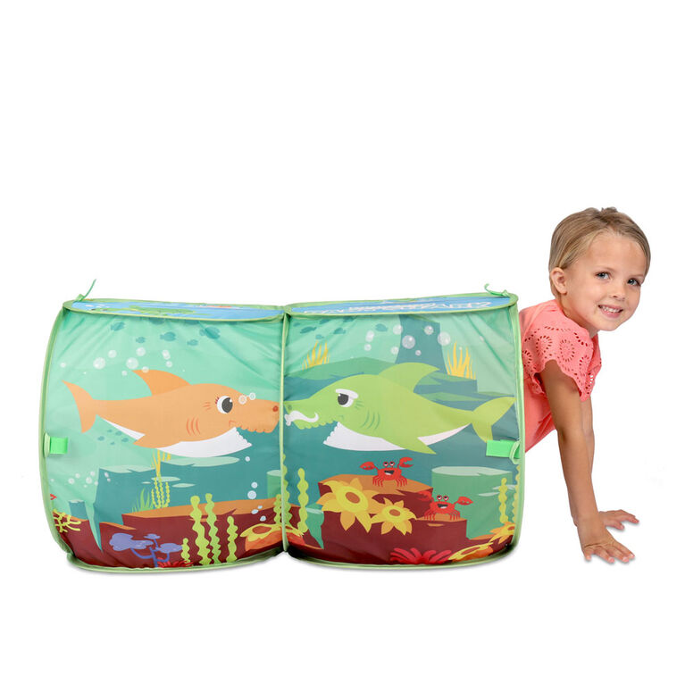 Baby Shark Explore 4 Fun Tent