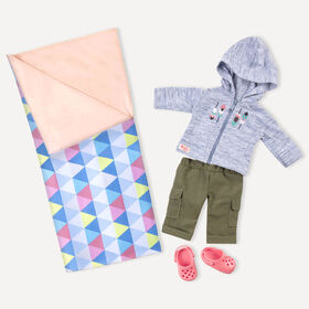 Our Generation, Cozy Camper, Camping Outfit for 18-inch Dolls