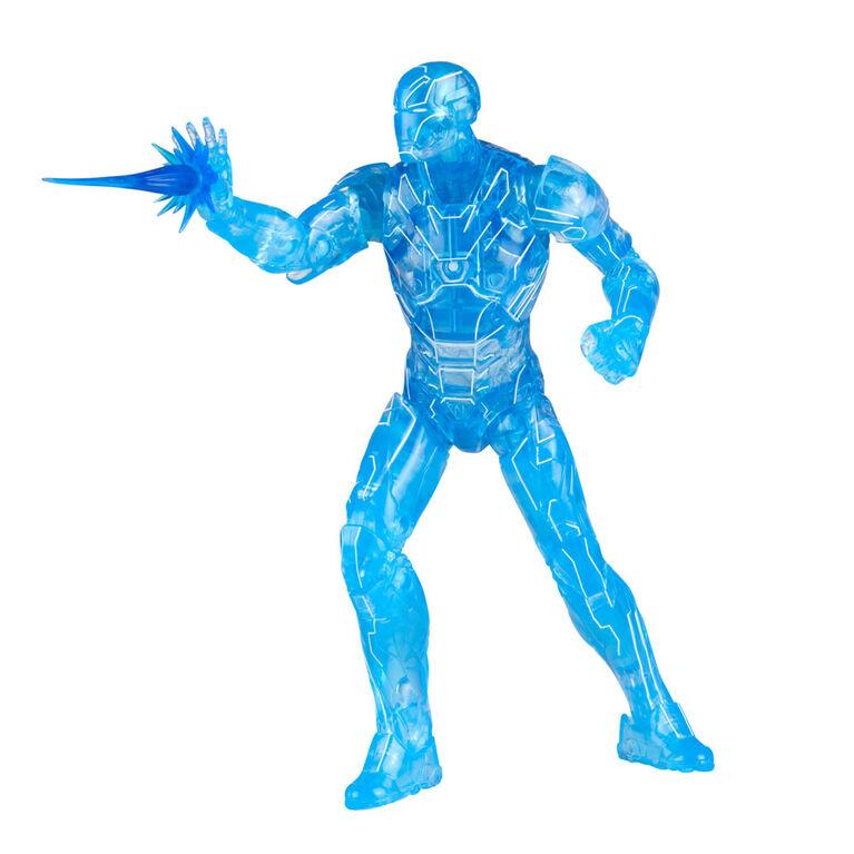 Hasbro Marvel Legends Series Hologram Iron Man Action Figure Build-a-Figure