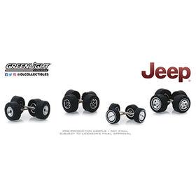 1:64 Auto Body Shop  Jeep -Grey &Black