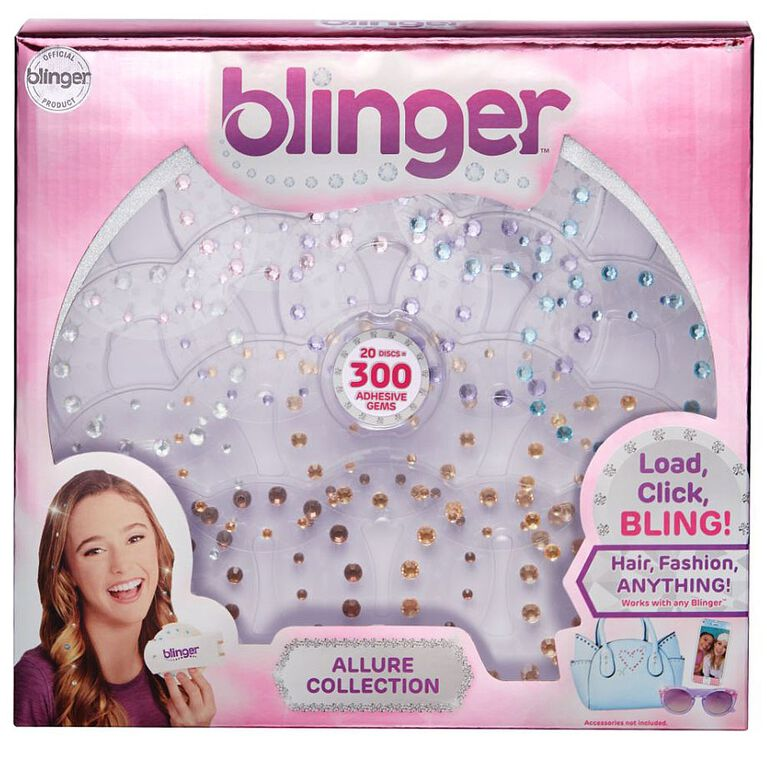 Blinger 20 Piece Refill Pack - Allure Collection - Pastel Tones