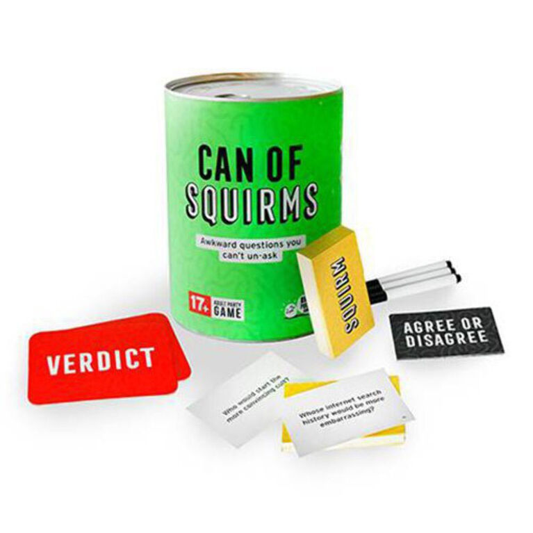 Can of Squirms Game
