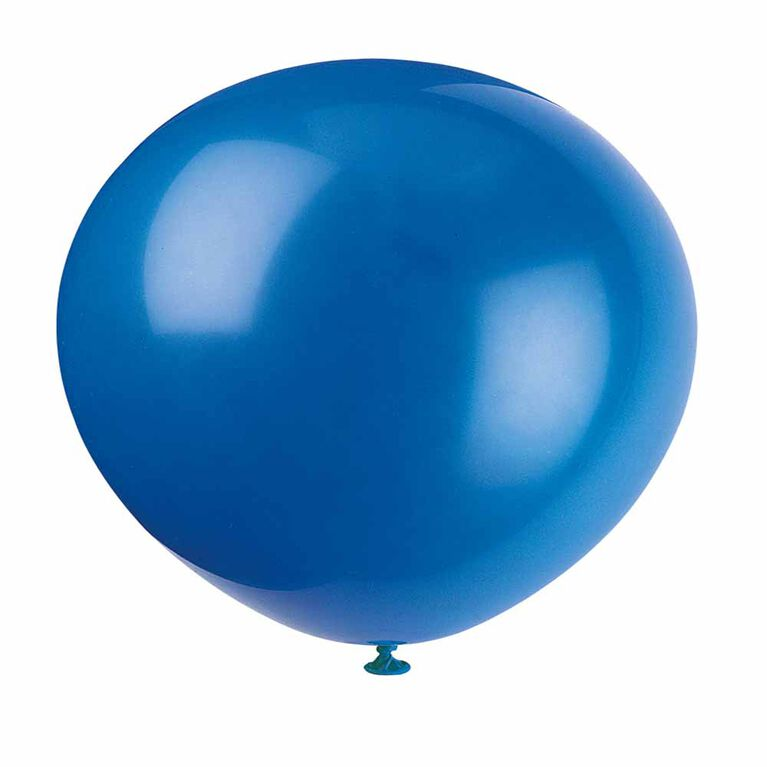 "12"" Latex Balloons, 10 pieces - Royal Blue"