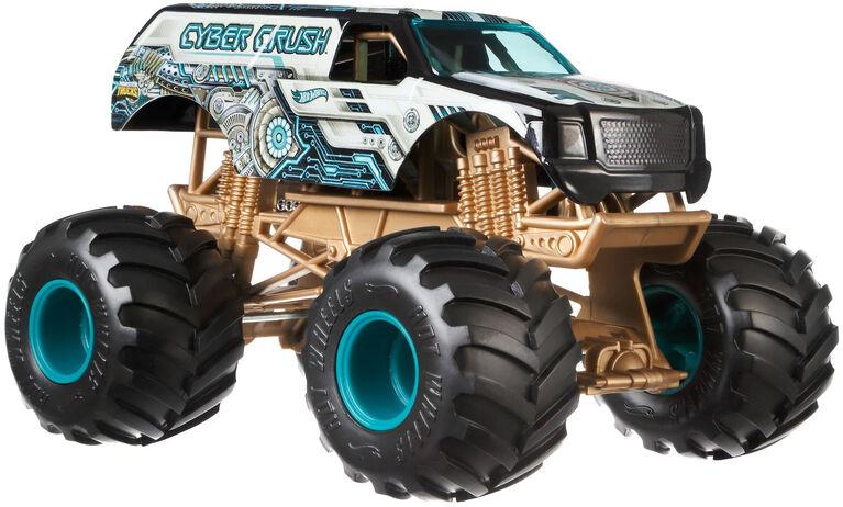 Hot Wheels Monster Trucks Cyber Crush Vehicle