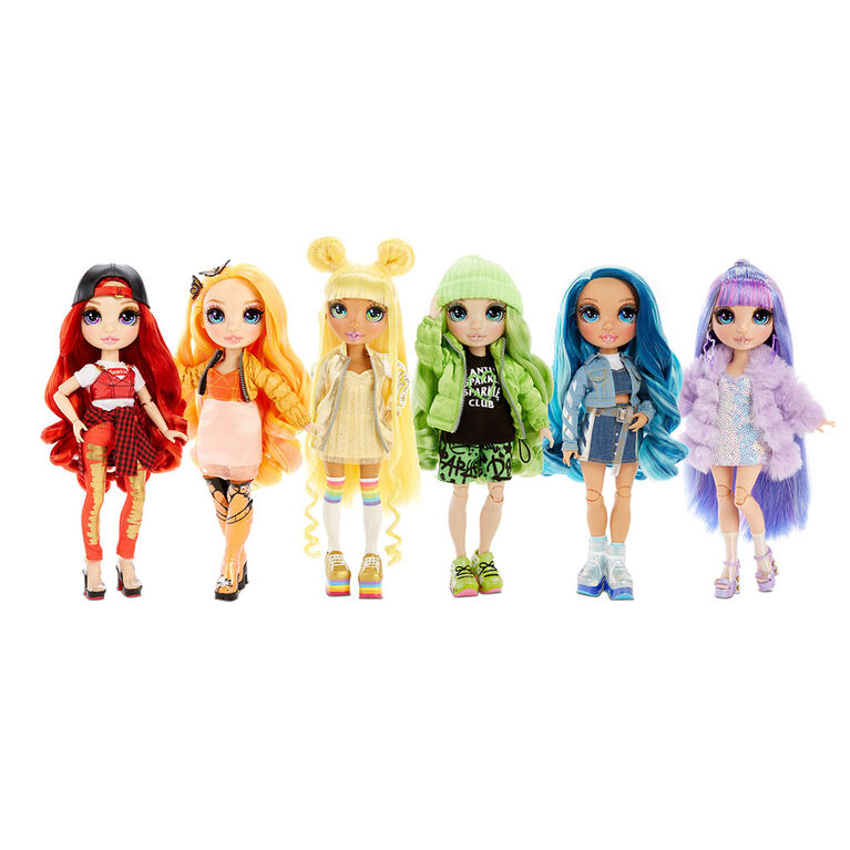 Rainbow High Jade Hunter - Green Fashion Doll with 2 Outfits