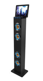 Art+Sound Bluetooth Tower Speaker With LED Accent Light - Black