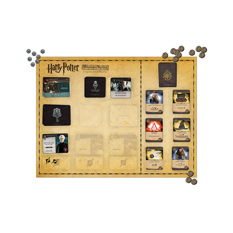 Harry Potter Hogwarts Battle - A Cooperative Deck-Building Game