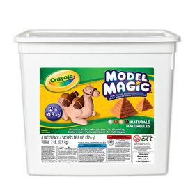 Crayola - Model Magic Bucket, Naturals 2lb