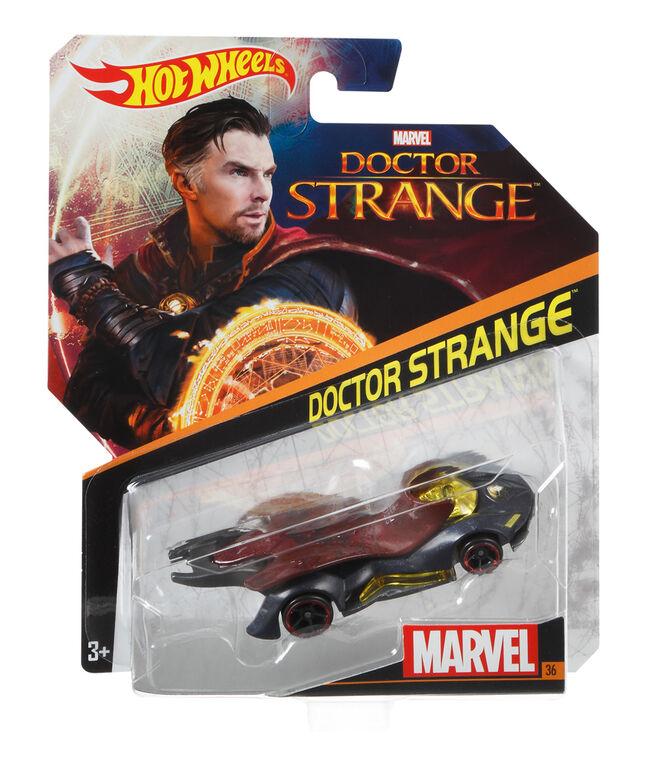 Hot Wheels Marvel Character Car - Dr. Strange