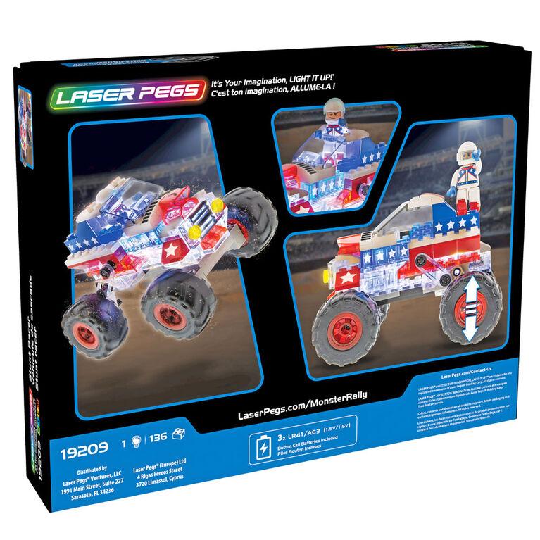 Laser Pegs Stunt Racer